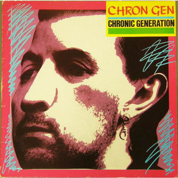 CHRON GEN - Chronic generation LP Secret insert EX-/EX