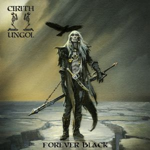 CIRITH UNGOL - Forever Black LP UUSI Metal Blade LTD 400 ICE BLUE/BLACK MARBLED