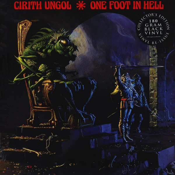 CIRITH UNGOL - One Foot In Hell LP Metal Blade UUSI BLACK