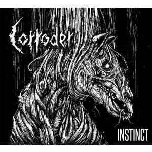 "CORRODER - Instinct 7"" EP LTD 300 copies"
