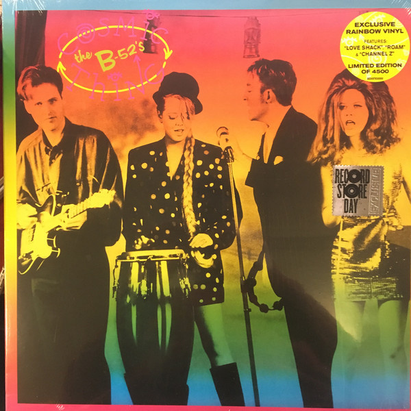 B'52's - Cosmic Thing LP (LTD BLACK FRIDAY 2018 RELEASE)