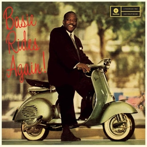 COUNT BASIE - Basie Rides Again LP UUSI Wax Time