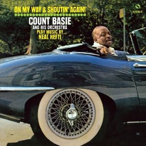 COUNT BASIE AND HIS ORCHESTRA - On My Way and Shoutin' Again! LP UUSI Spiral