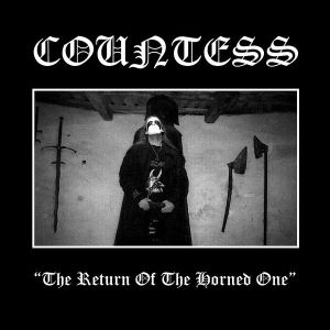 COUNTESS - The return of the horned one LP UUSI LTD 500 copies
