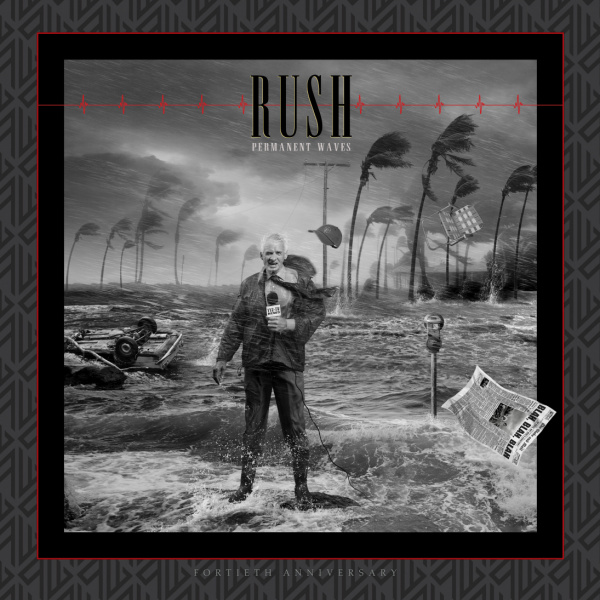 RUSH - Permanent Waves 40th Anniversary Super Deluxe BOX SET 3LP+2CD