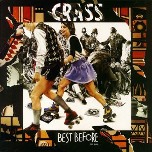 CRASS - Best Before 1984 2LP UUSI Crass Records
