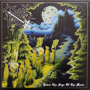 CRUEL FORCE - Under the Sign of the Moon LP UUSI LTD YELLOW