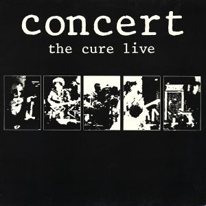 CURE - Concert - The Cure Live CD