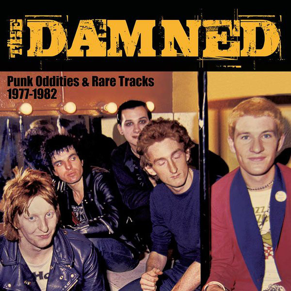 DAMNED - Punk Oddities & Rare Tracks 1977-1982 LP Cleopatra UUSI LTD 500 COLOUR vinyl