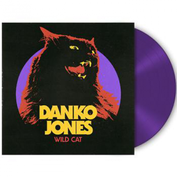 DANKO JONES - Wild Cat LP UUSI LTD 500 PURPLE