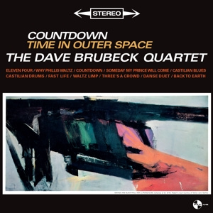 DAVE BRUBECK Quartet - Countdown Time In Outer Space LP UUSI PanAm
