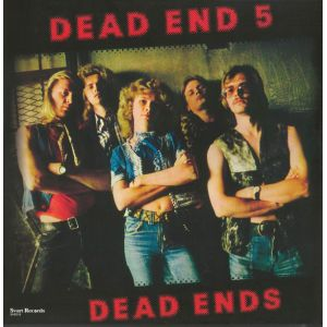 DEAD END 5 - Dead Ends LP Svart UUSI LTD 200 RED vinyl