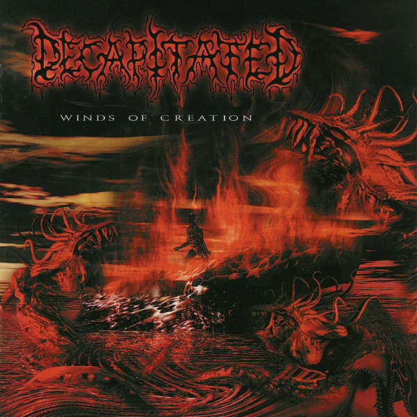 DECAPITATED - Winds of creation CD