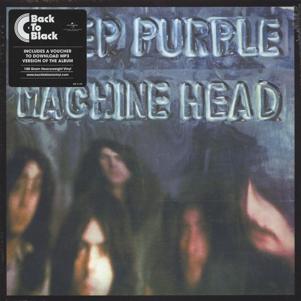 DEEP PURPLE - Machine Head LP Universal UUSI