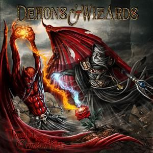 DEMONS & WIZARDS - Touched By the Crimson King 2LP Deluxe Edition, Gatefold Sleeve, Remastered