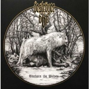 DESTROYER 666 - Unchain the Wolves LP UUSI VAN Records BLACK vinyl