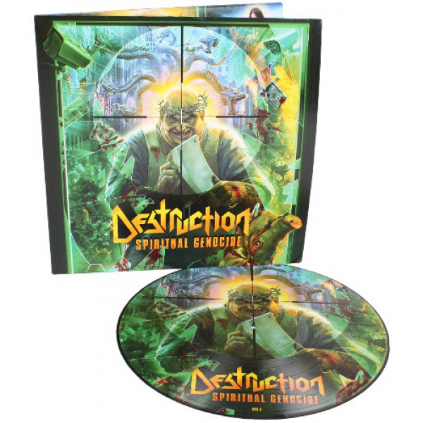 DESTRUCTION - Spiritual Genocide PICTURE-LP NB UUSI