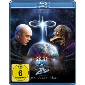 DEVIN TOWNSEND PROJECT - Ziltoid Live at the Royal Albert Hall Blu-ray disc