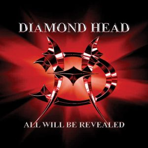 DIAMOND HEAD - All Will Be Revealed LP Back On Black LTD RED