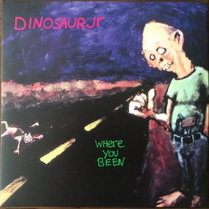 DINOSAUR JR - Where You Been 2LP  Cherry Red