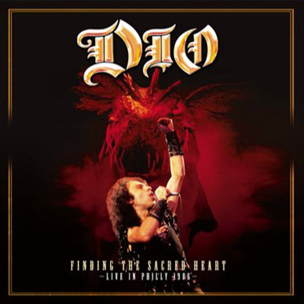 DIO - Finding The Sacred Heart – Live In Philly 1986 2LP UUSI Back On Black