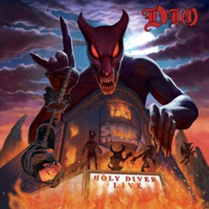 DIO - Holy Diver Live 3LP LTD  lenticular cover