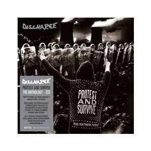 DISCHARGE - Protest and Survive : The Anthology 2CD