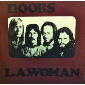 DOORS - L.A. Woman LP UUSI Electra
