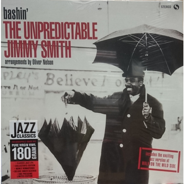 JIMMY SMITH - Bashin' - The Unpredictable Jimmy Smith LP UUSI Spiral Records