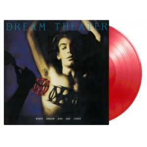 DREAM THEATER - When Dream and Day Unite LP UUSI Music On Vinyl LTD numbered 3500 RED