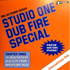 DUB SPECIALISTS - Studio One Dub Fire Special (Chapter Three: 18 Heavyweight Dub Cuts From Brentford Road) 2LP Soul Jazz Records