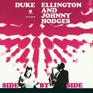 DUKE ELLINGTON AND JOHNNY HODGES - Side by side LP Spiral Records