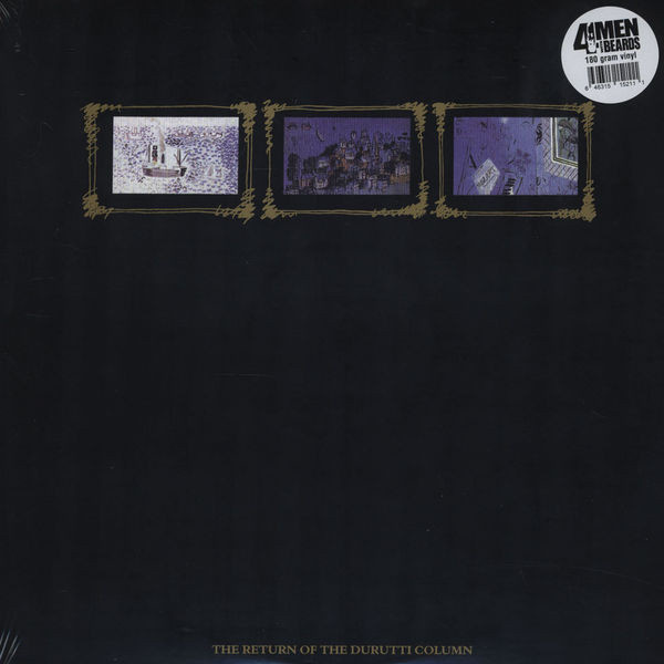 DURUTTI COLUMN - The return of the Durutti Column LP 4Men With Beards UUSI M/M