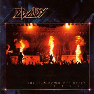 EDGUY - Burning down the house 2CD