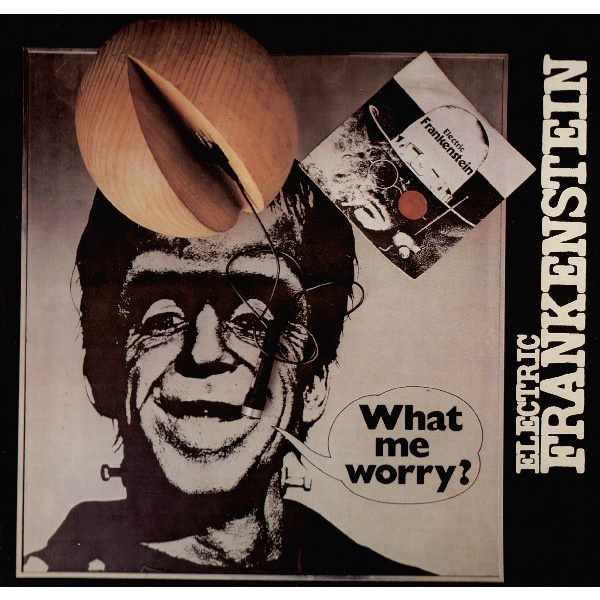 ELECTRIC FRANKENSTEIN - What me worry LP Akarma UUSI M/M
