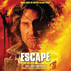 SHIRLEY WALKER & JOHN CARPENTER -  Escape From L.A. (Original Score Album From The Motion Picture) 2LP