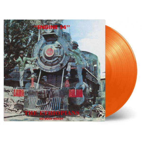 ETHIOPIANS - Engine 54 LP Music On Vinyl LTD 1000 ORANGE vinyl