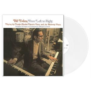 BILL EVANS - From Left To Right LP UUSI Klimt LTD WHITE vinyl