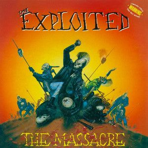 EXPLOITED - Massacre re-release