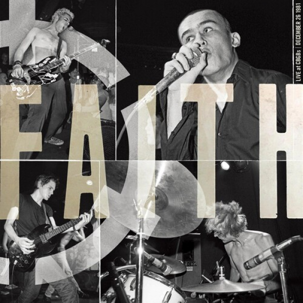 FAITH - LIVE AT CBGB'S LP UUSI Outer Battery