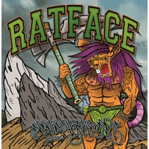 RATFACE - Negative Partycore LP  FULL HOUSE RECORDS