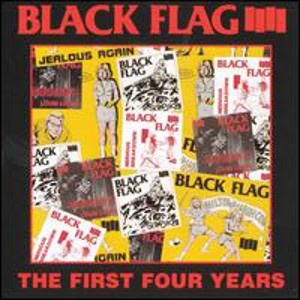 BLACK FLAG - First Four Years CD