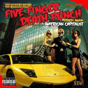 FIVE FINGER DEATH PUNCH - American Capitalist CD