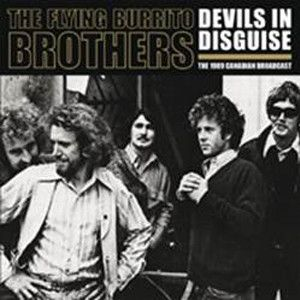 FLYING BURRITO BROTHERS - Devils in disguise 1971 live broadcast 2-LP Let Them Eat Vinyl UUSI M/M