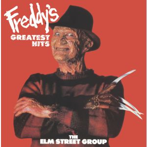 SOUNDTRACK -  The Elm Street Group ‎– Freddy's Greatest Hits LP  Strange Disc Records