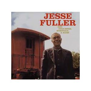 FULLER JESSE - Jazz folk songs spirituals & blues LP Doxy UUSI M/M