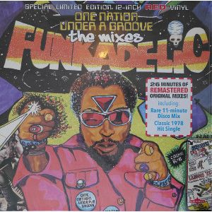 FUNKADELIC - One Nation Under A Groove The Mixes 12""