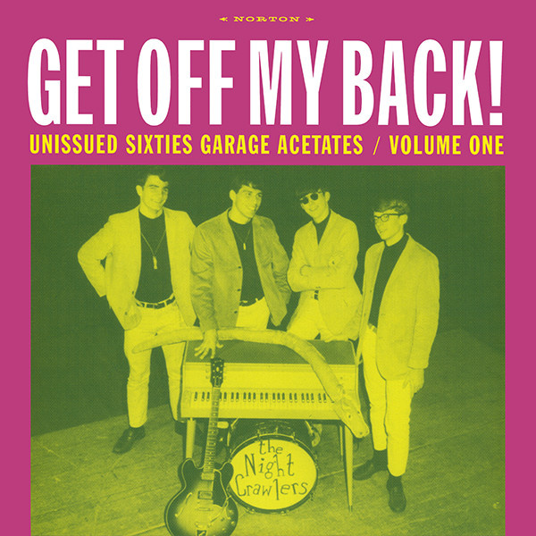 V/A - Get off my back unissued sixties garage vol 1 LP Norton UUSI