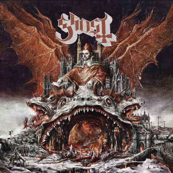 "GHOST - Prequelle LP + 7"" UUSI LTD Clear Smoke COLOUR"