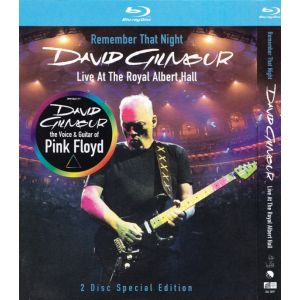GILMOUR DAVID - Remember that Night - 2 Blu-ray Disc